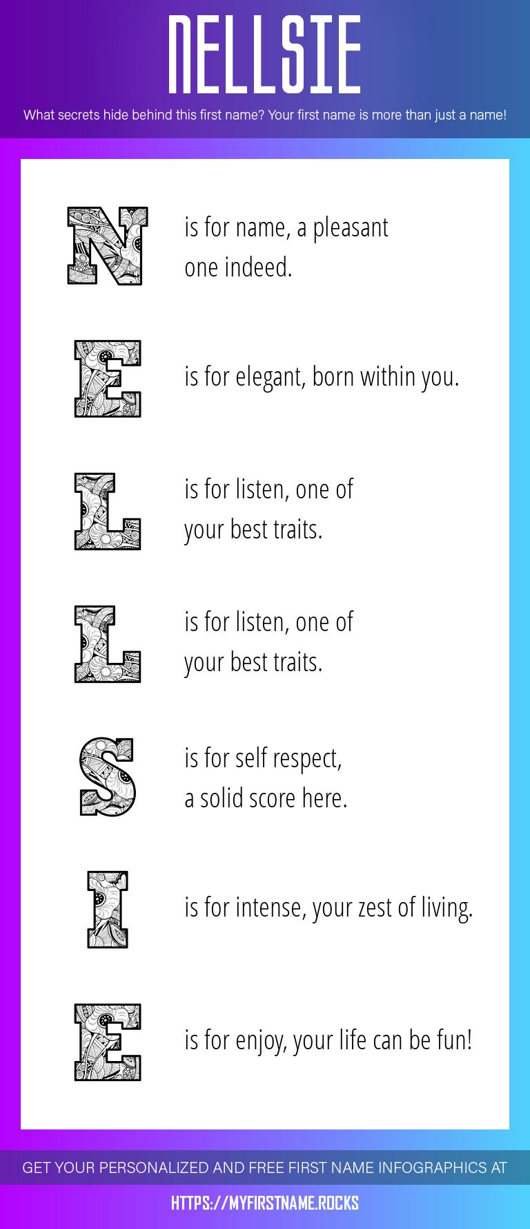 Nellsie Infographics