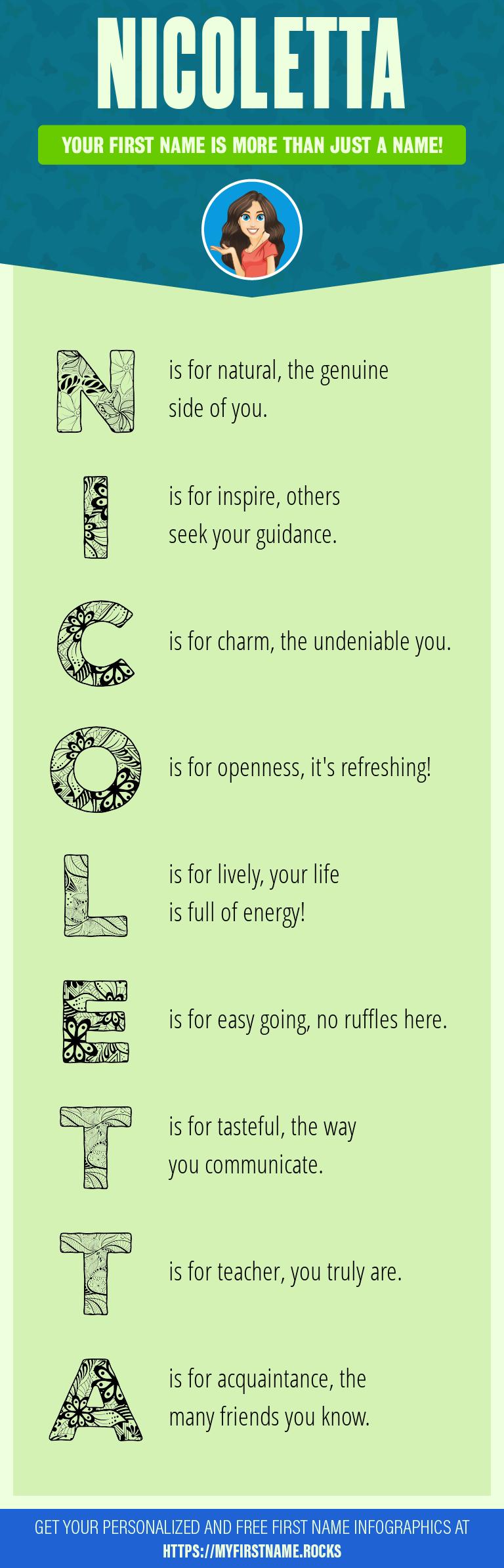 Nicoletta Infographics