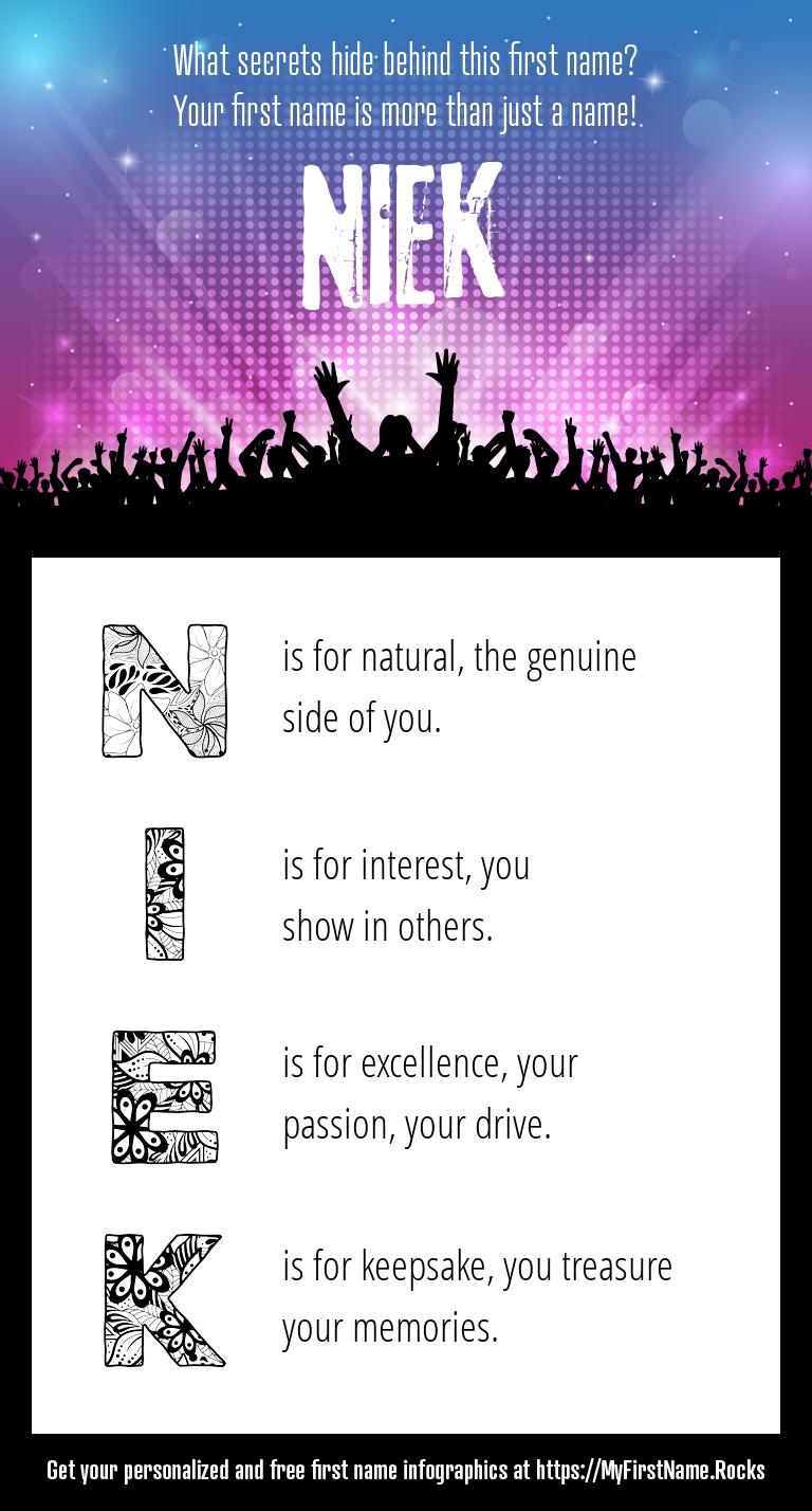 Niek Infographics