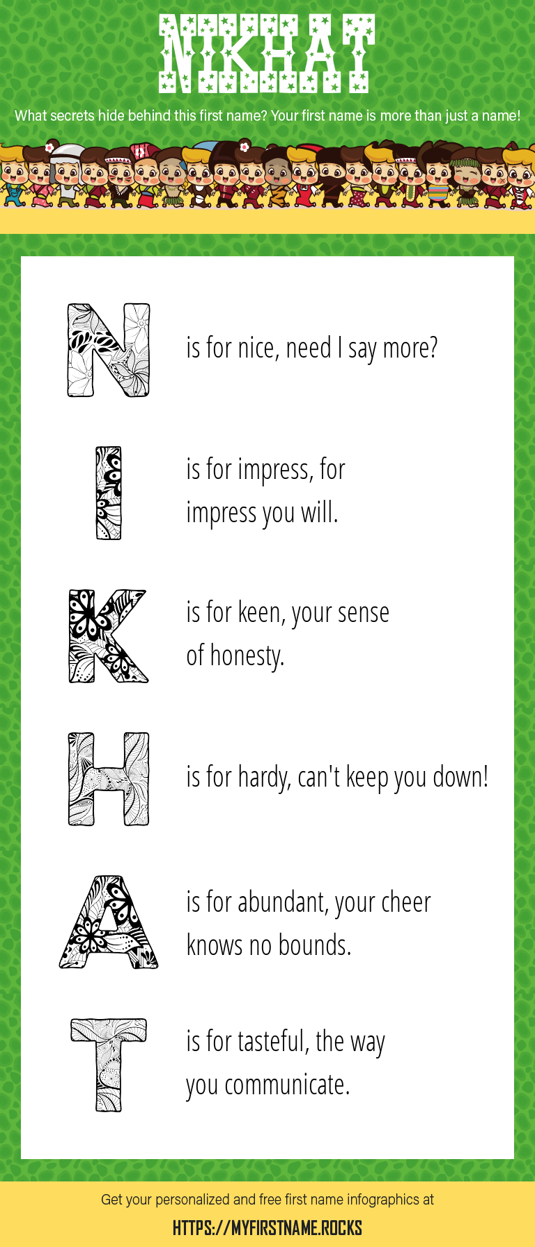 Nikhat Infographics