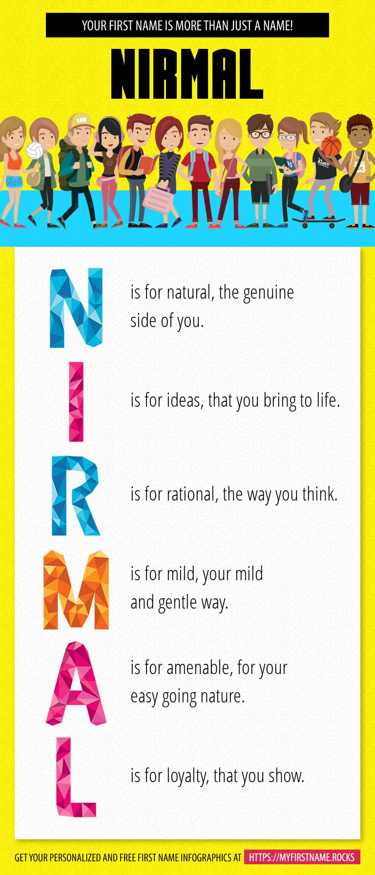 Nirmal Infographics