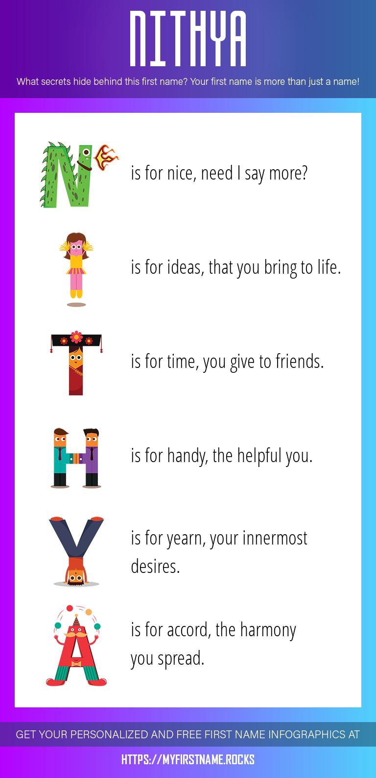 Nithya Infographics