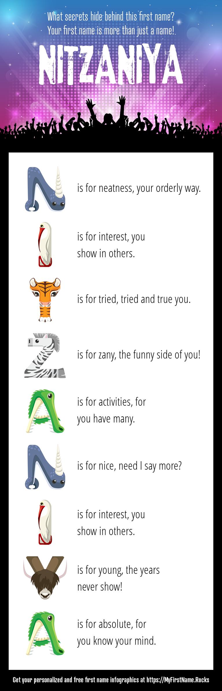 Nitzaniya Infographics