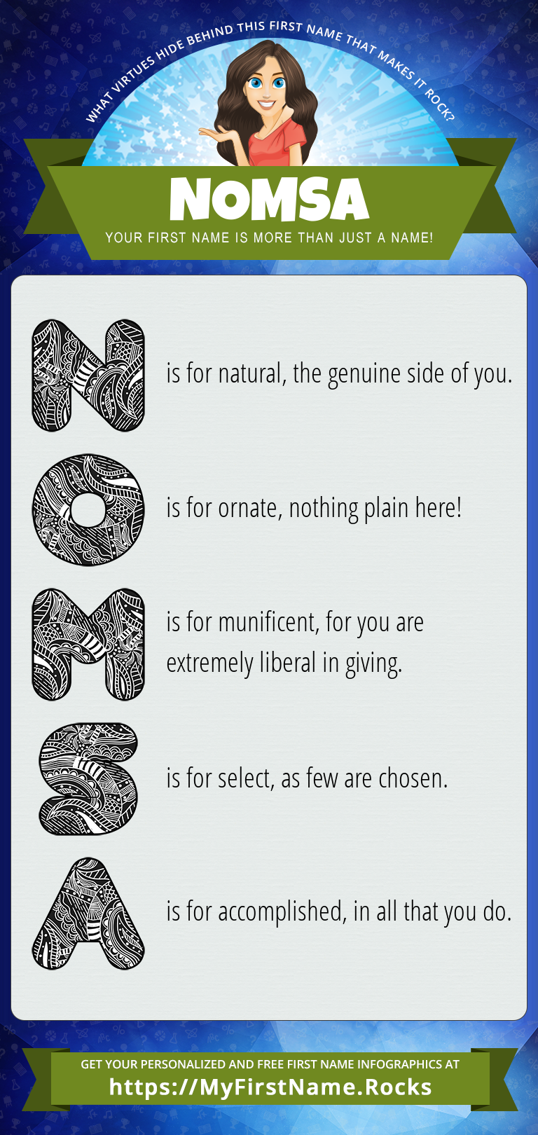 Nomsa Infographics