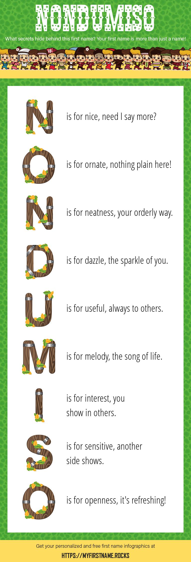 Nondumiso Infographics