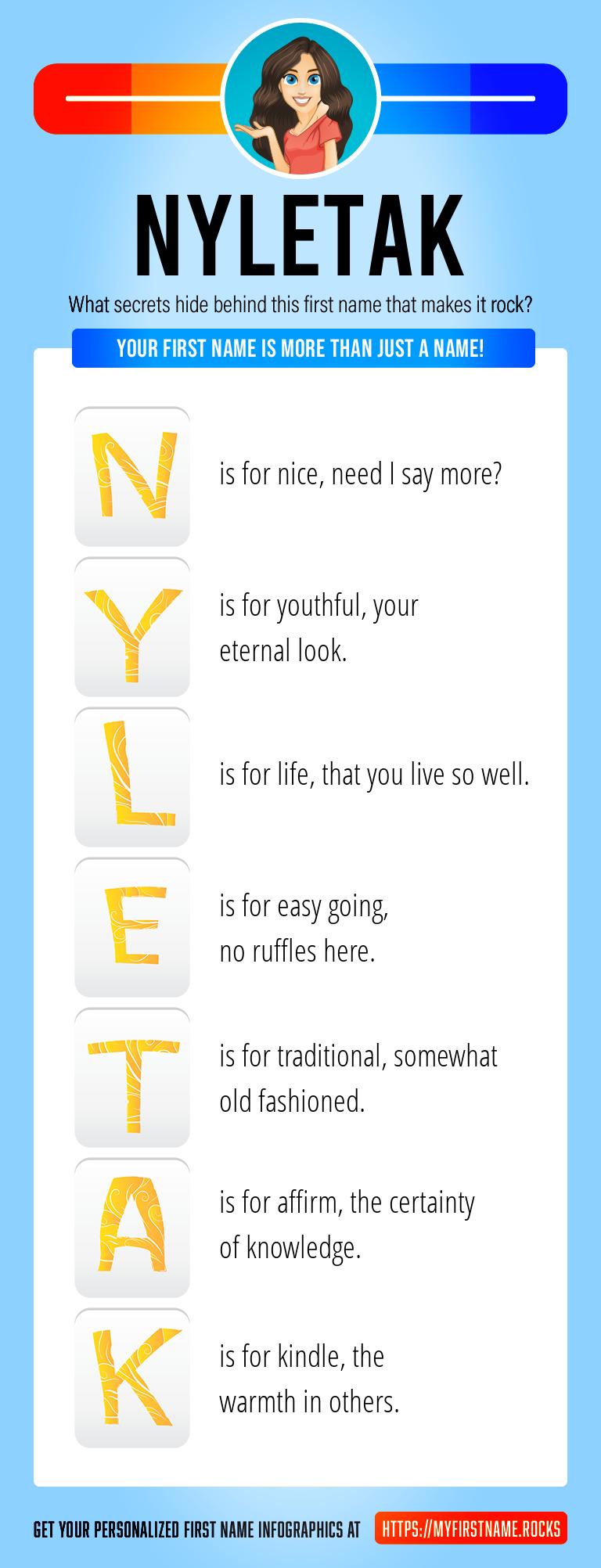 Nyletak Infographics