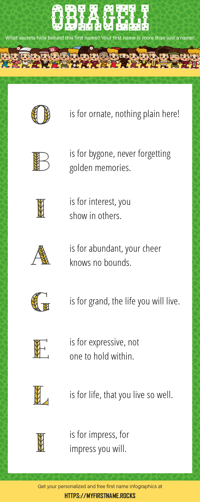 Obiageli Infographics