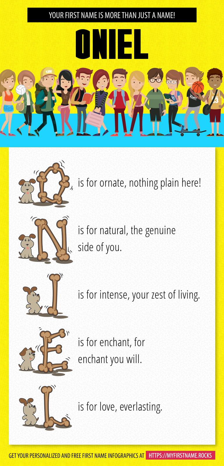 Oniel Infographics