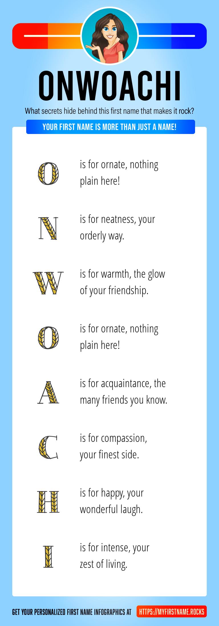 Onwoachi Infographics