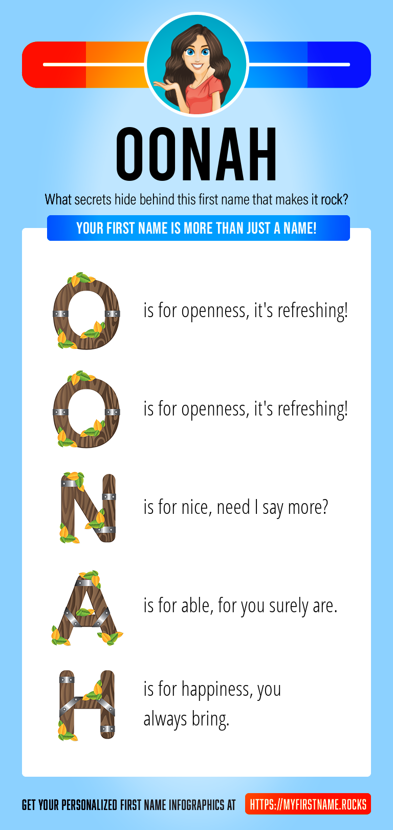 Oonah Infographics