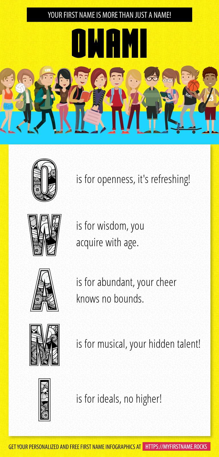 Owami Infographics