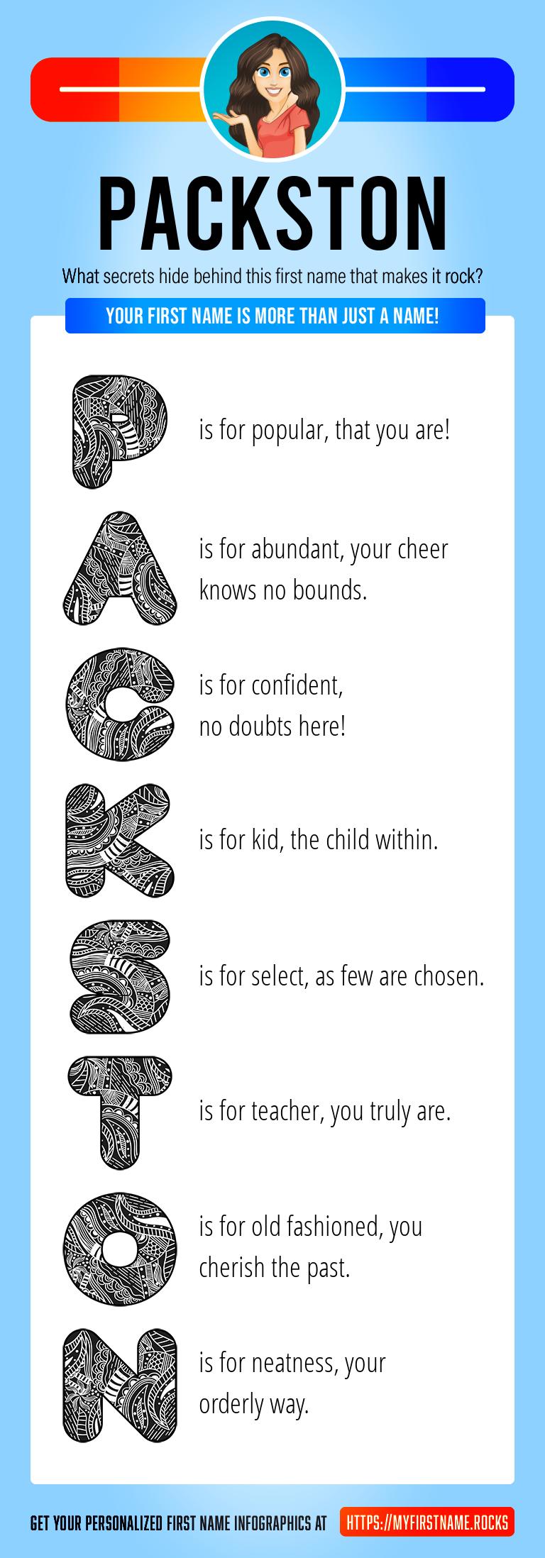 Packston Infographics