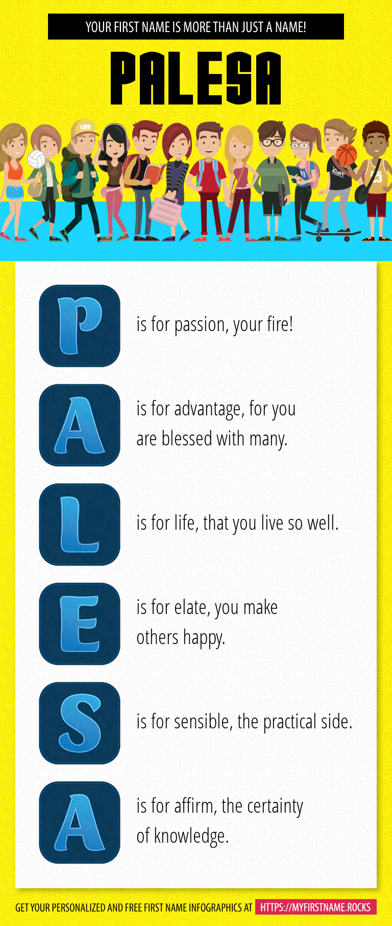 Palesa Infographics