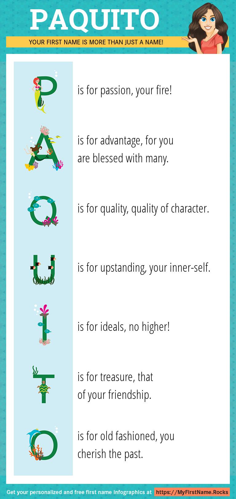 Paquito Infographics
