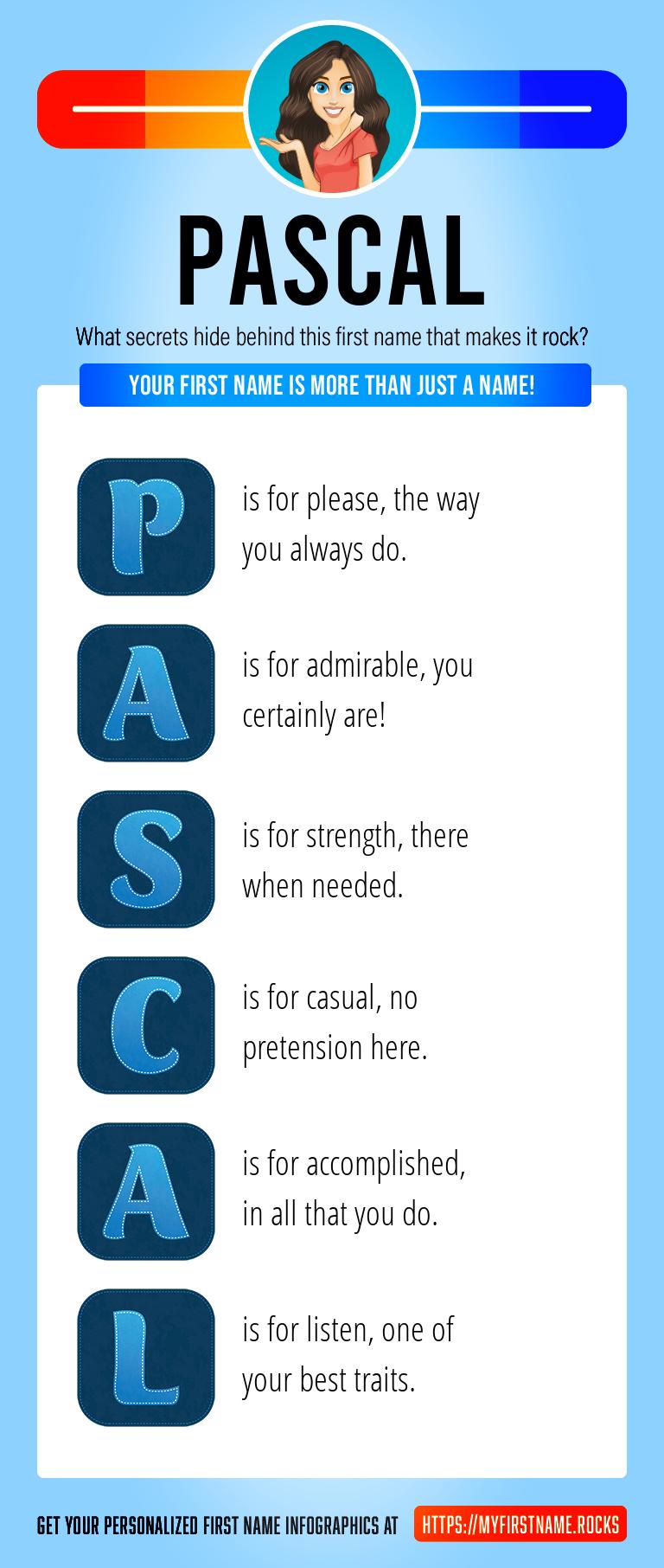Pascal Infographics