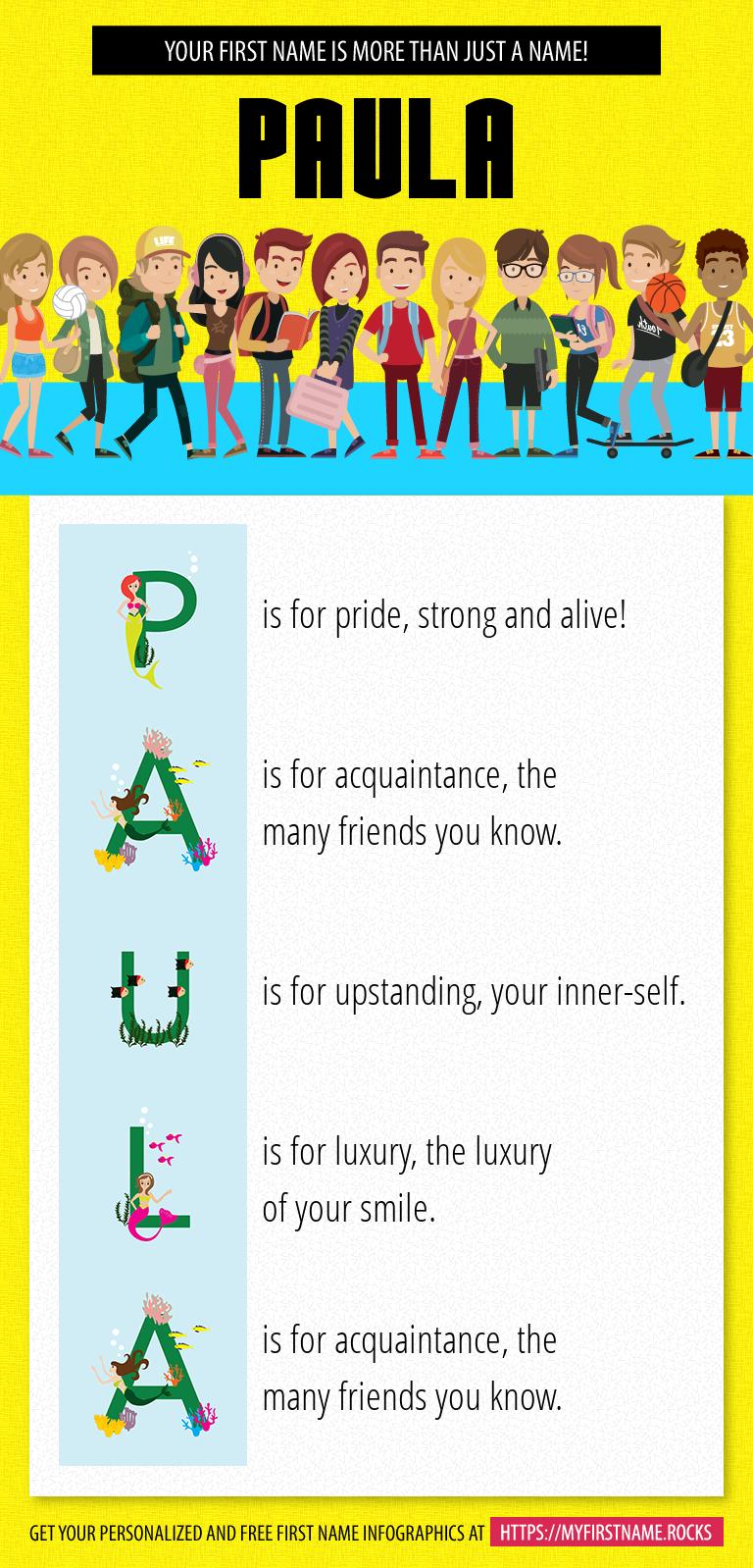 Paula Infographics