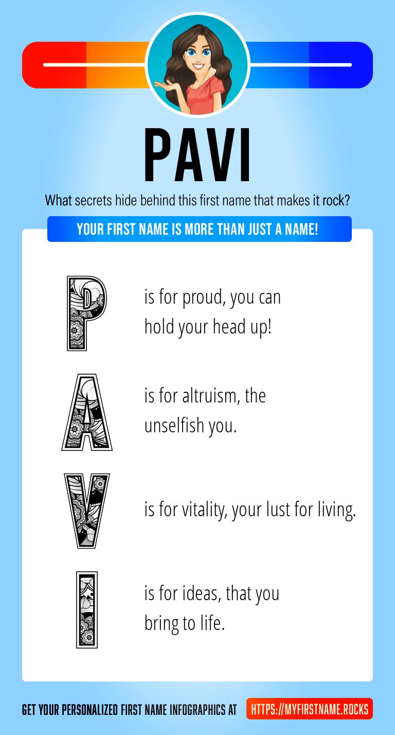 Pavi Infographics