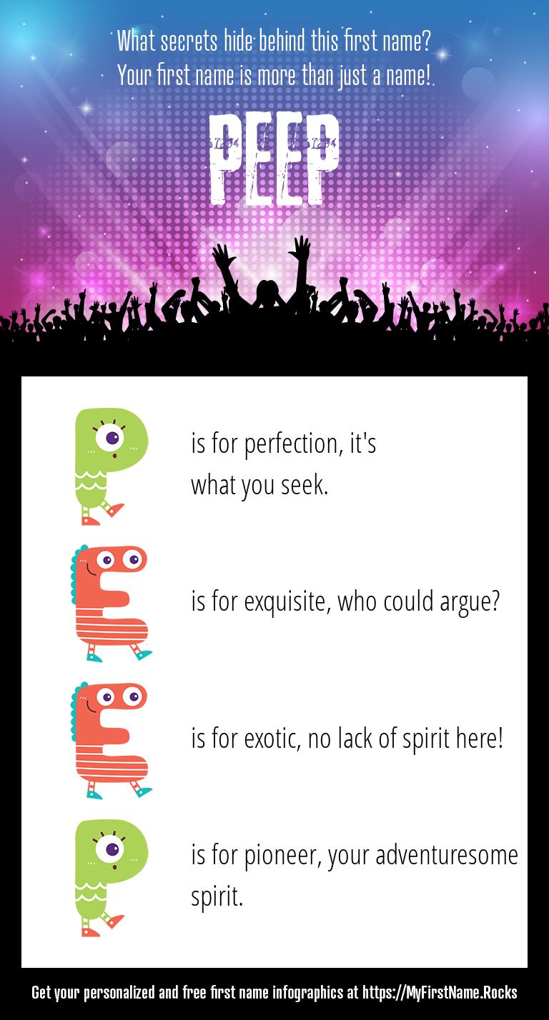 Peep Infographics