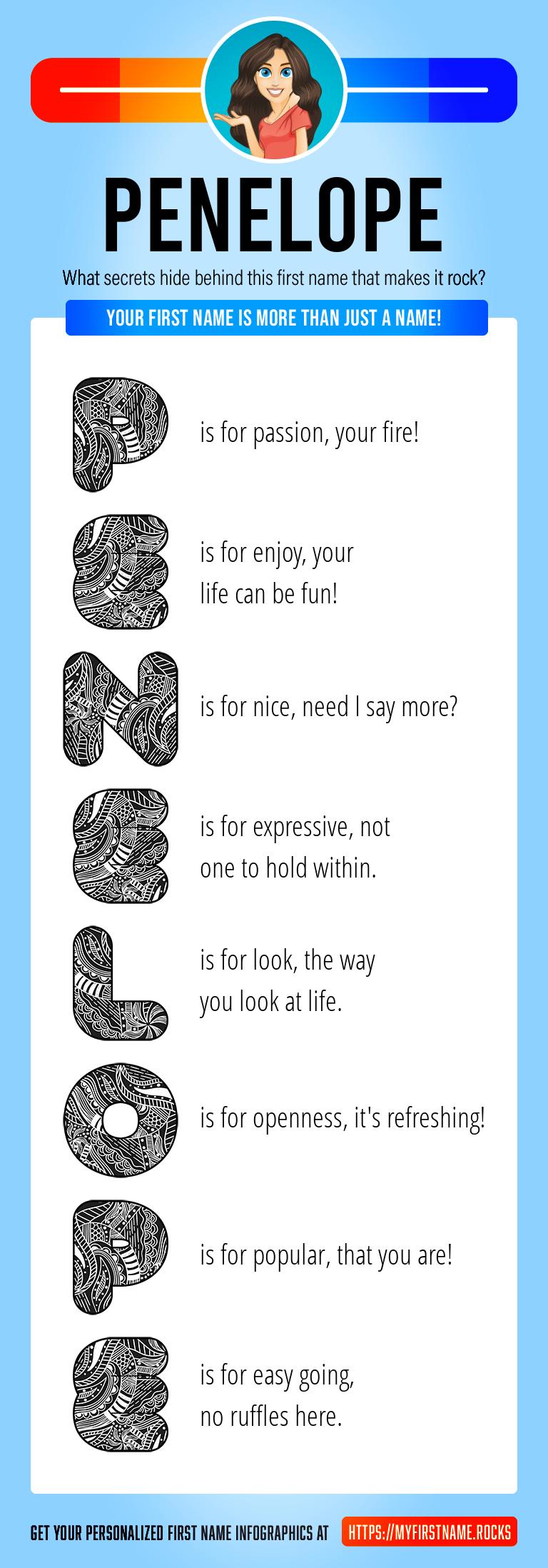 Penelope Infographics