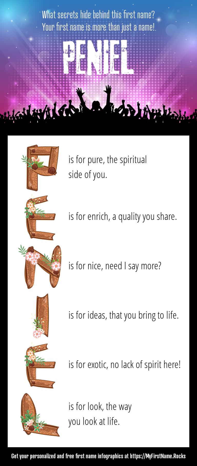 Peniel Infographics