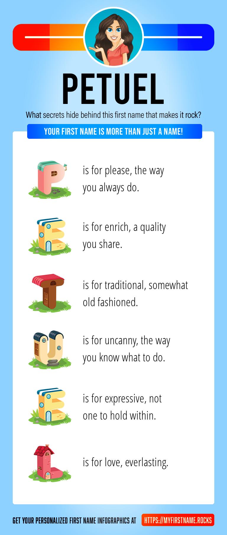 Petuel Infographics