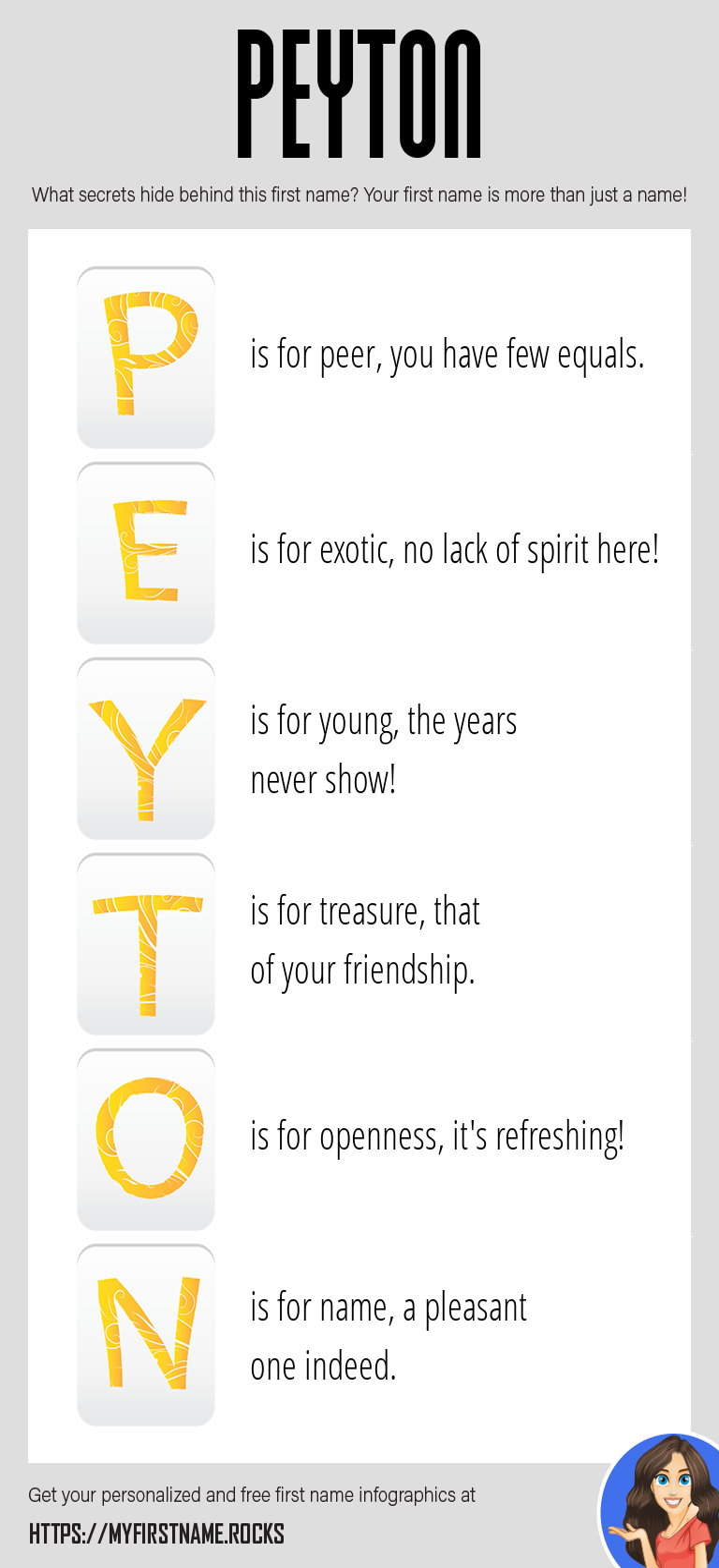 Peyton Infographics