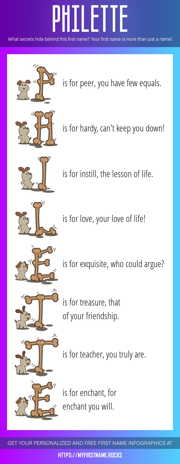 Philette Infographics