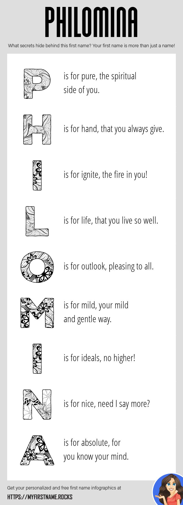 Philomina Infographics