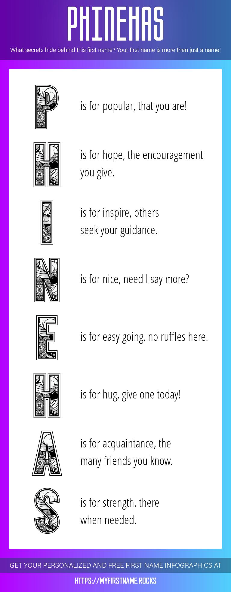 Phinehas Infographics