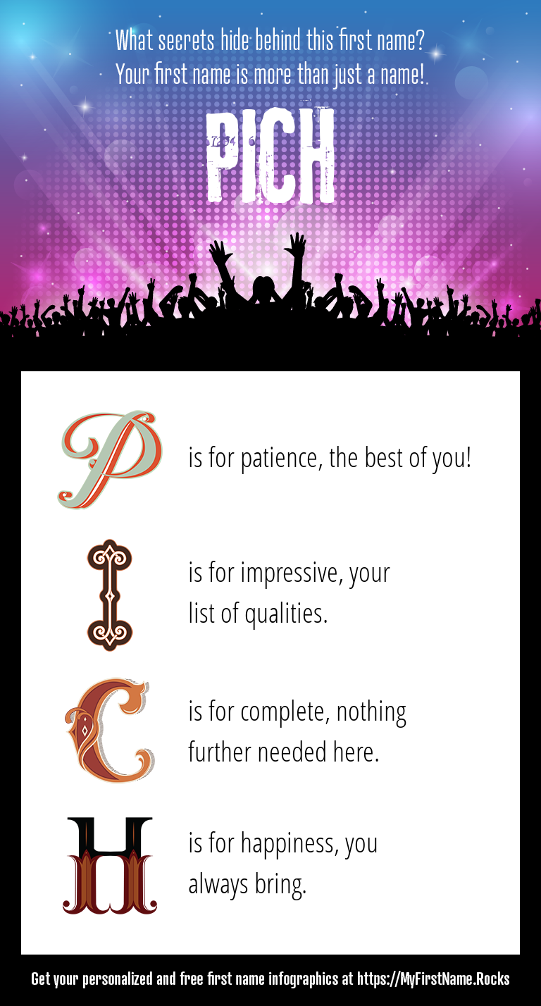 Pich Infographics