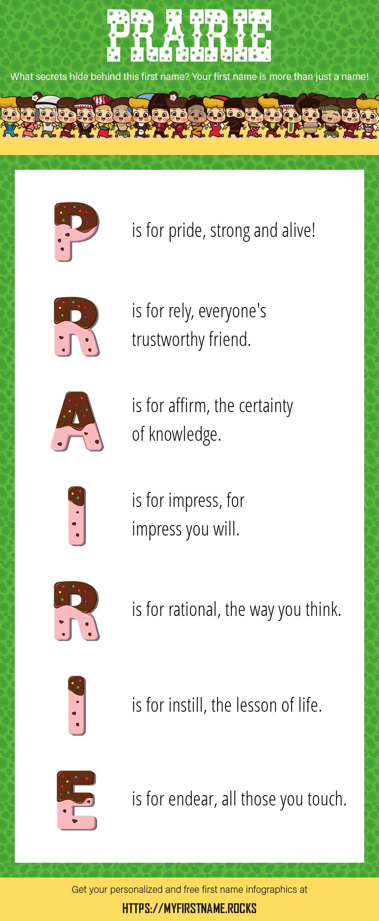 Prairie Infographics