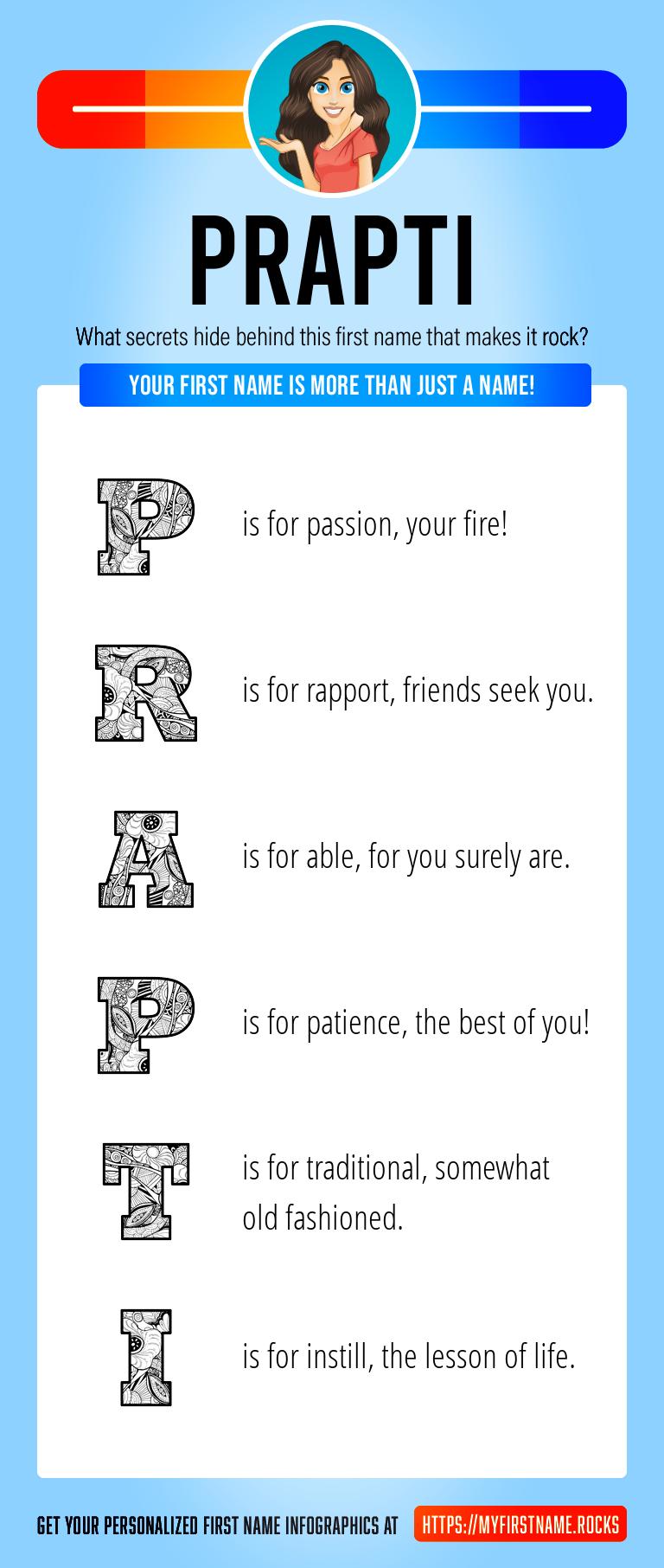 Prapti Infographics