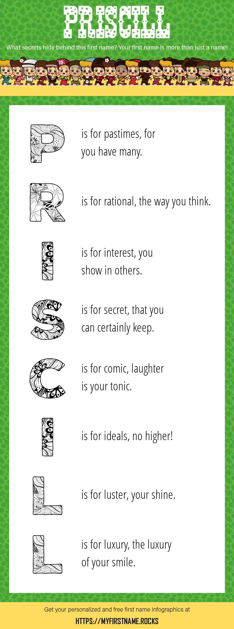 Priscill Infographics