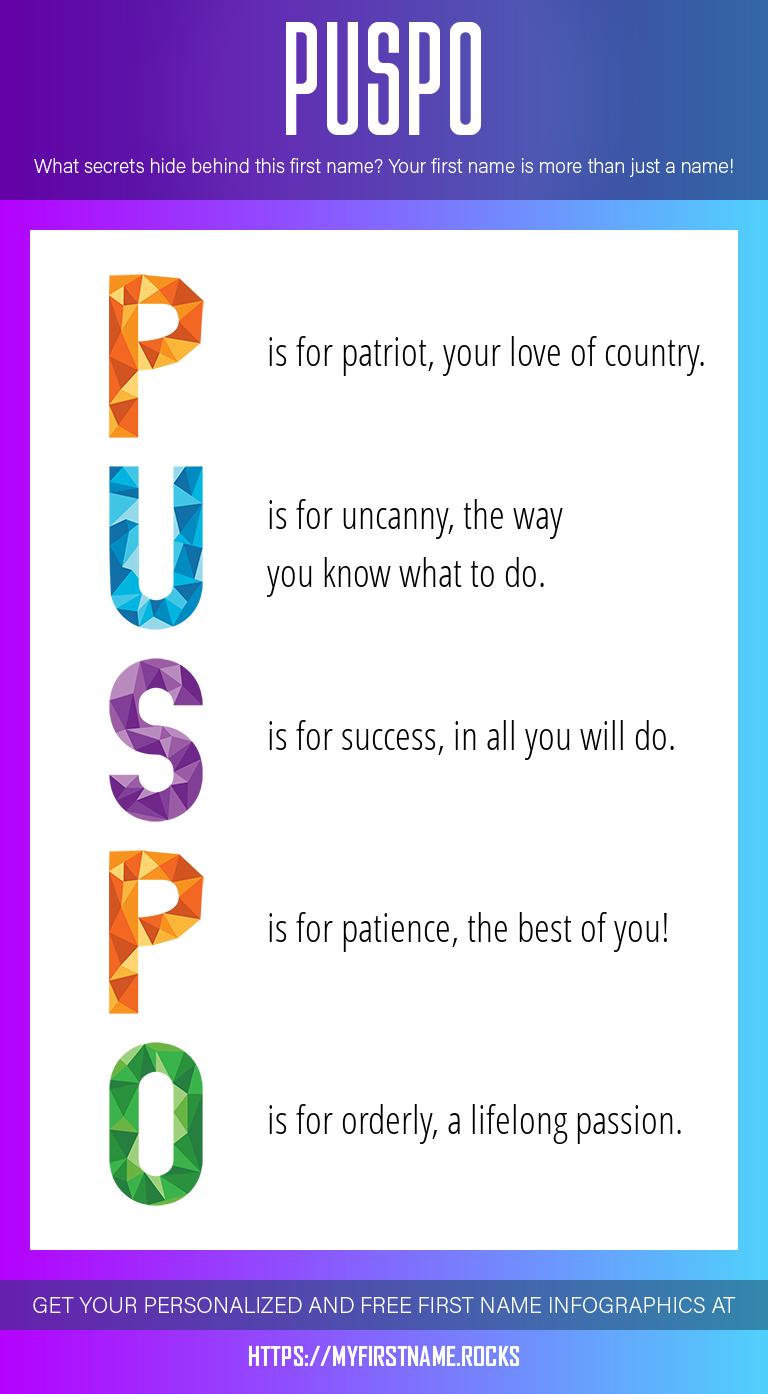 Puspo Infographics