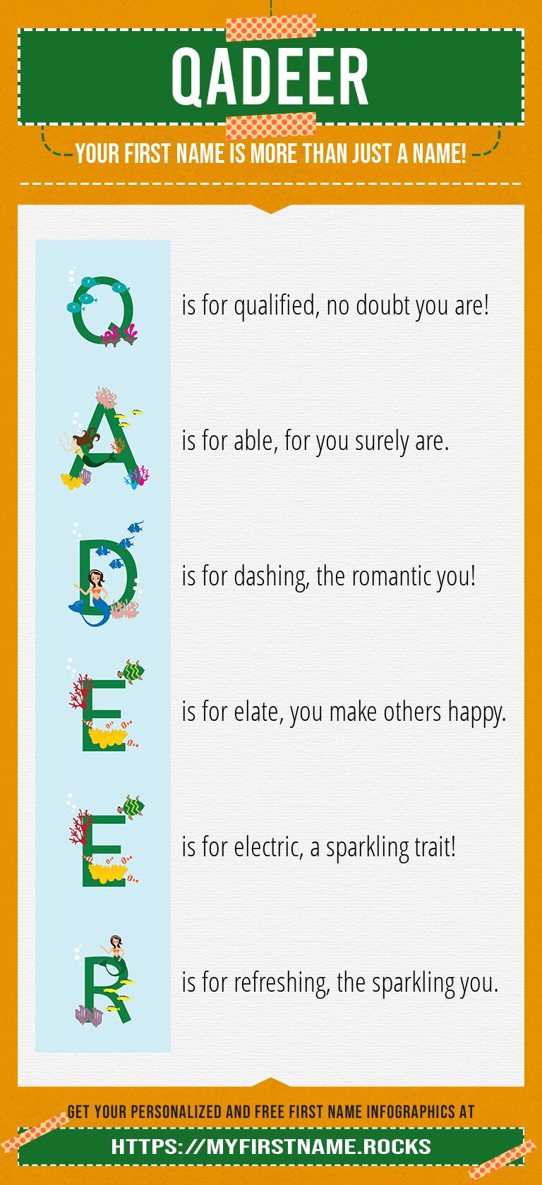 Qadeer Infographics