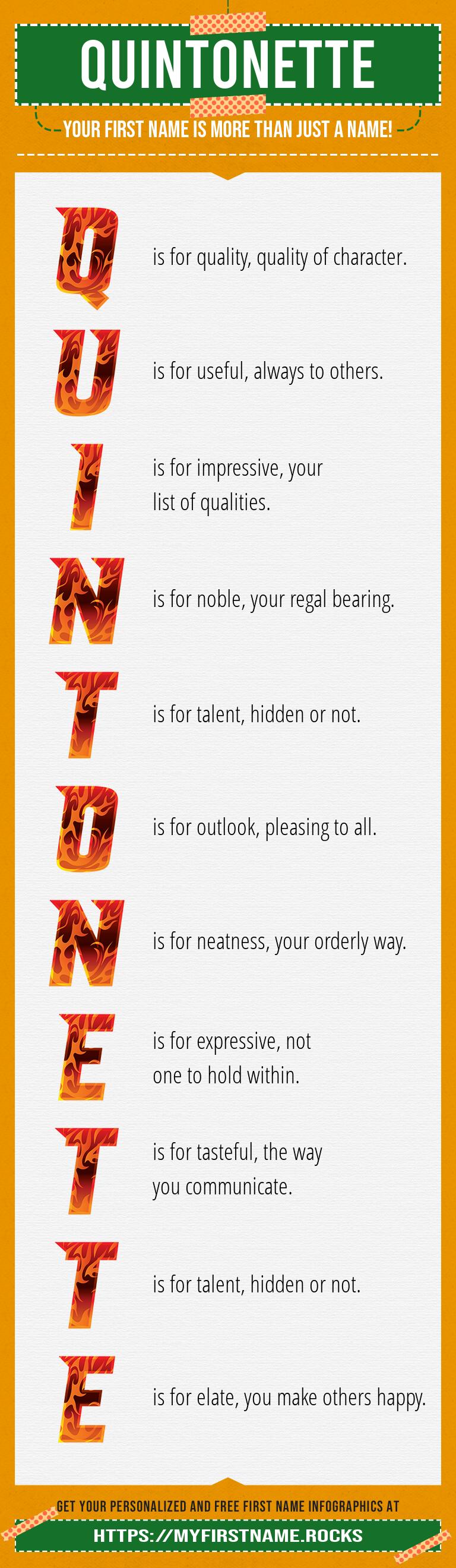 Quintonette Infographics