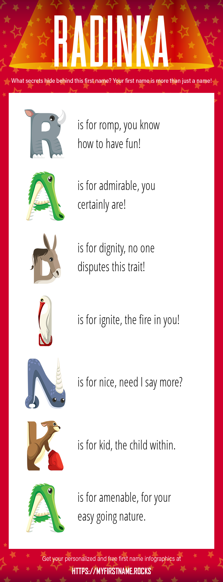 Radinka Infographics