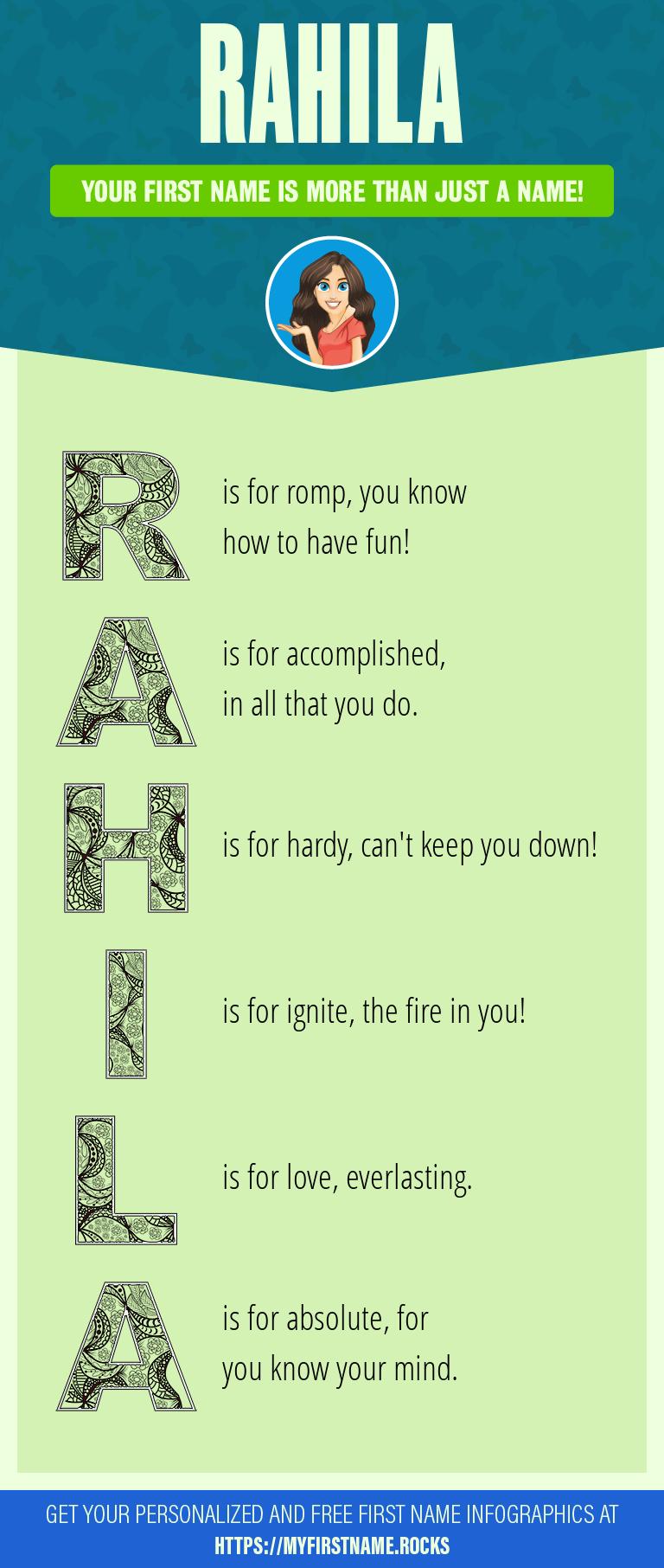 Rahila Infographics