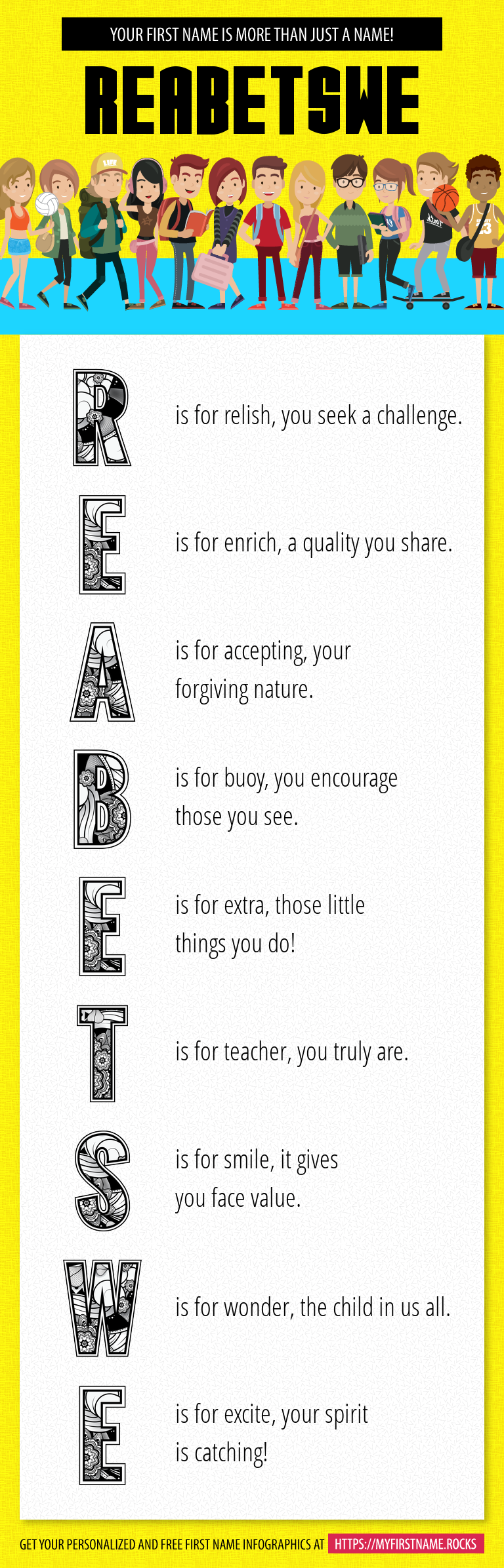 Reabetswe Infographics