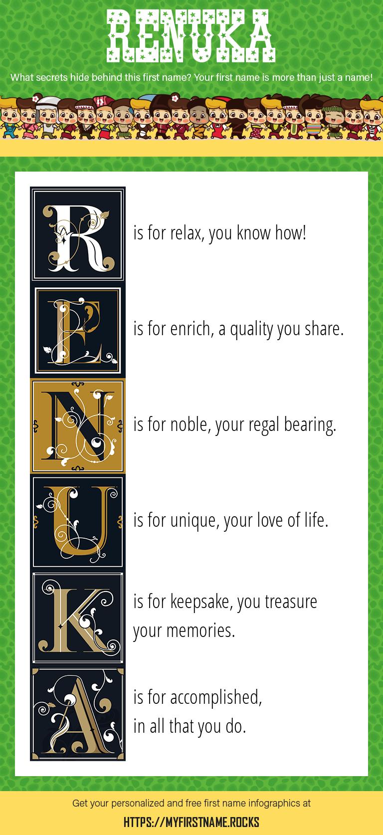 Renuka Infographics
