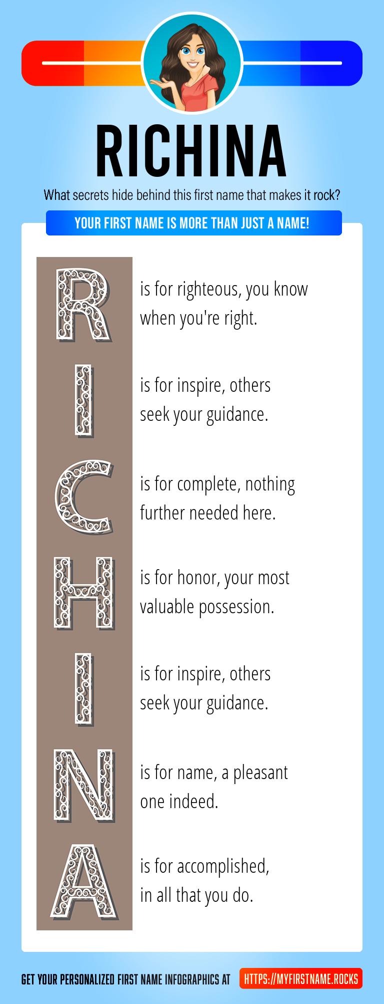 Richina Infographics