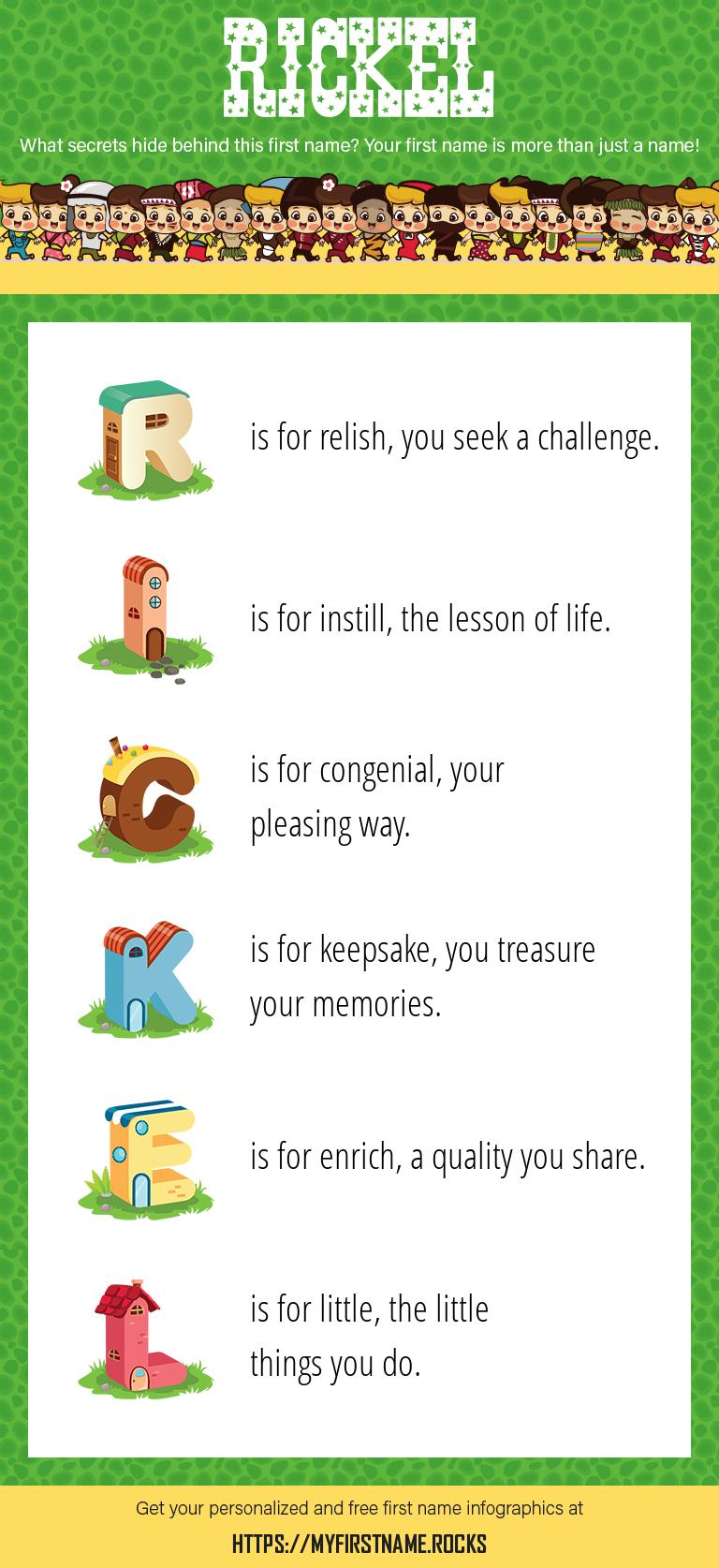 Rickel Infographics