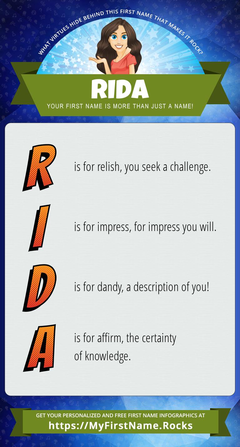 Rida Infographics