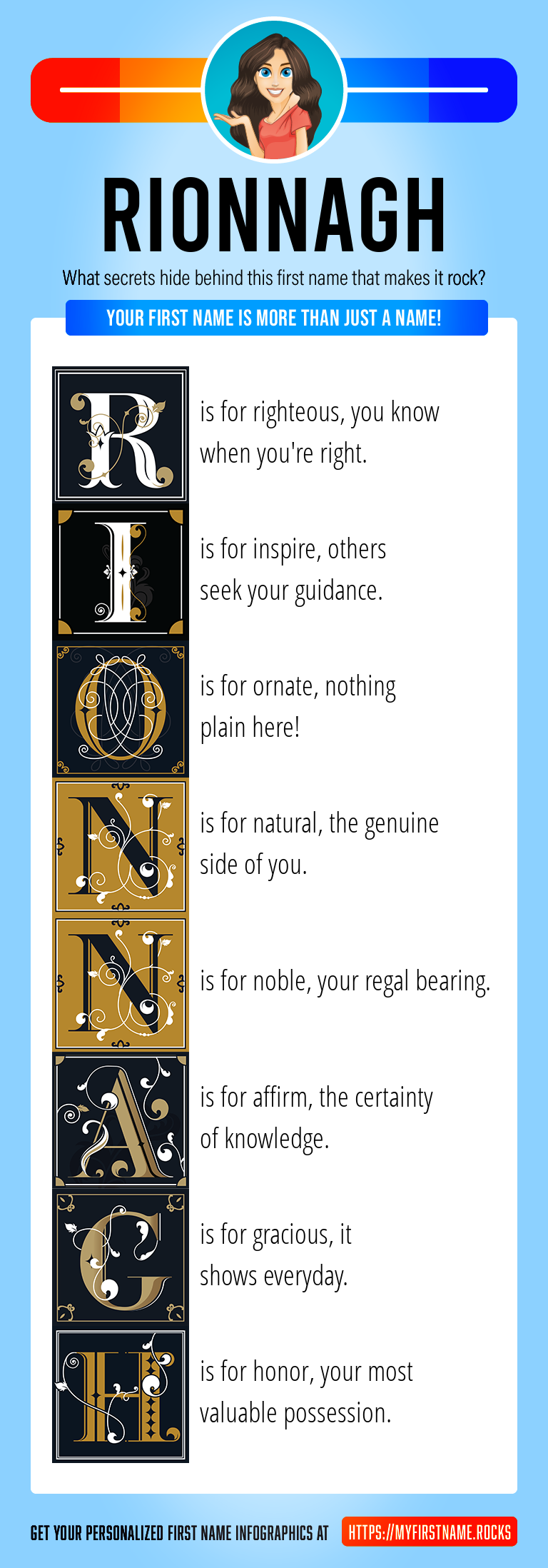 Rionnagh Infographics