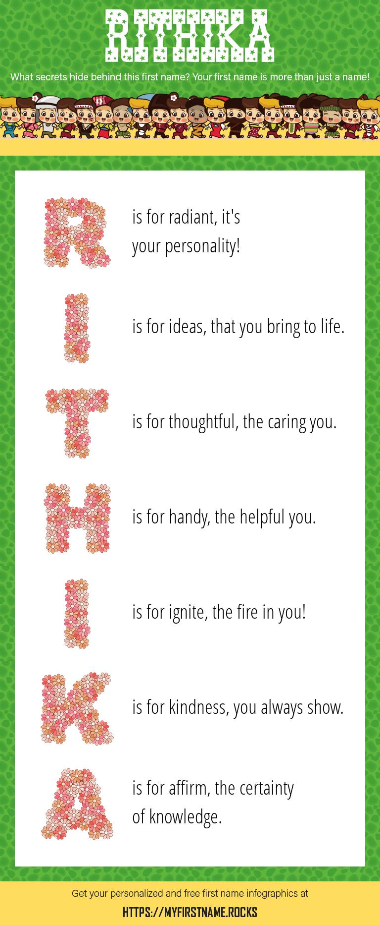 Rithika Infographics