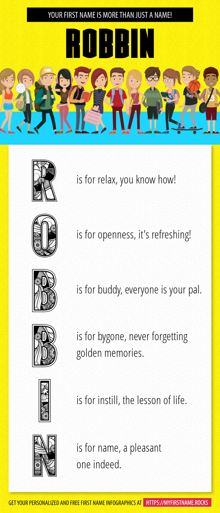 Robbin Infographics