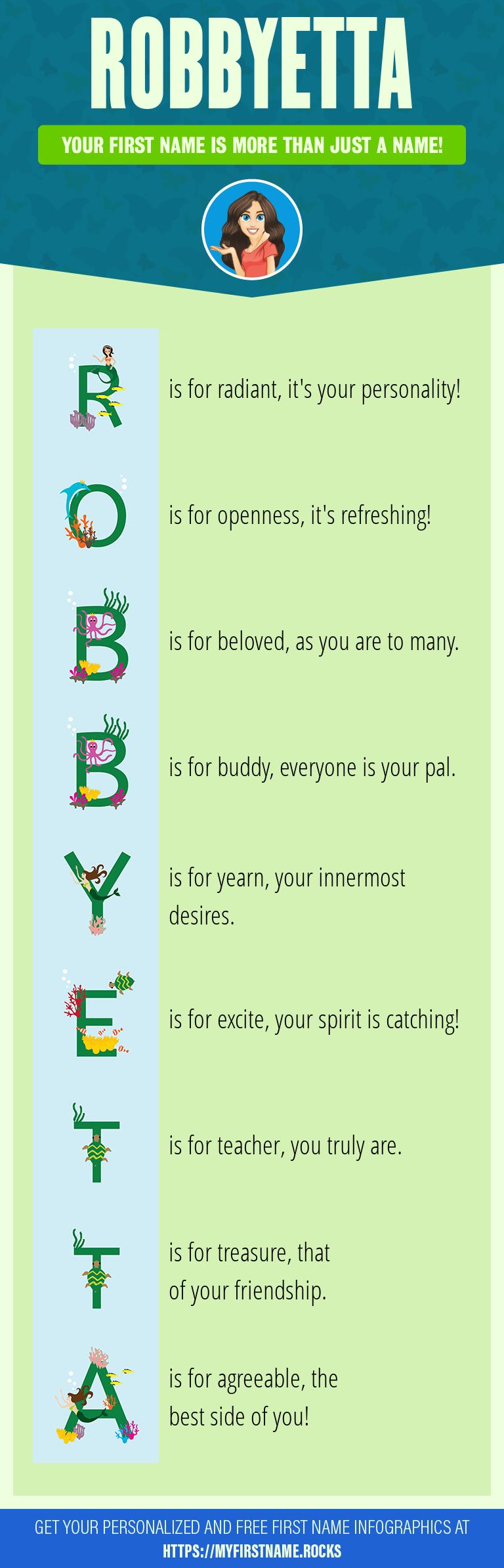 Robbyetta Infographics