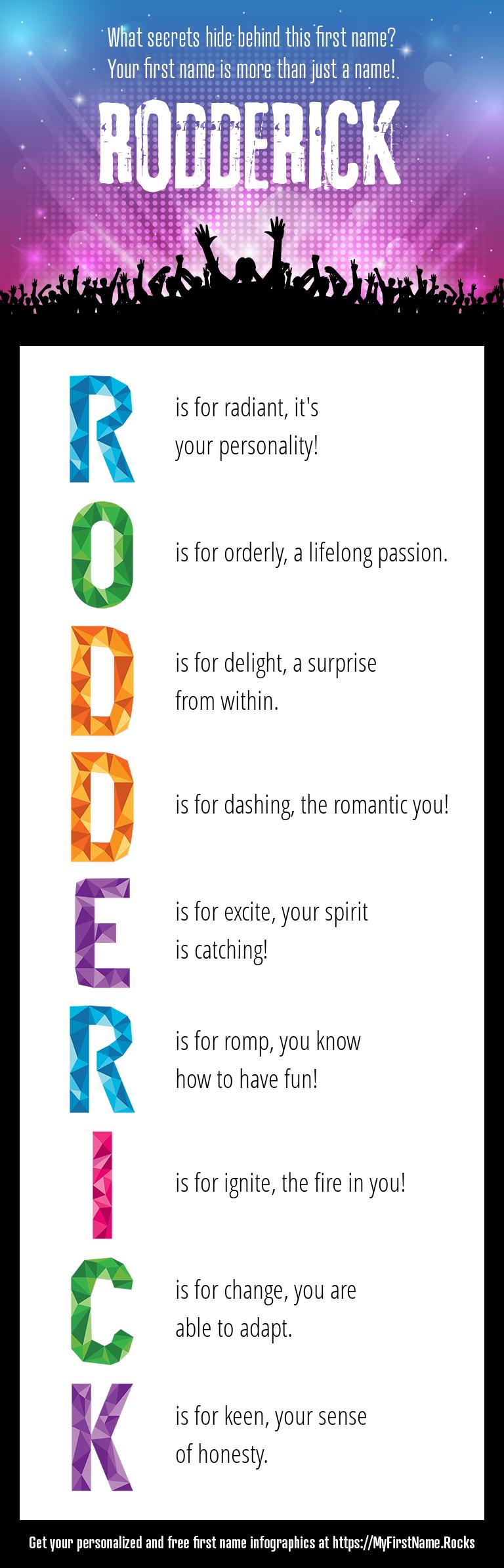 Rodderick Infographics