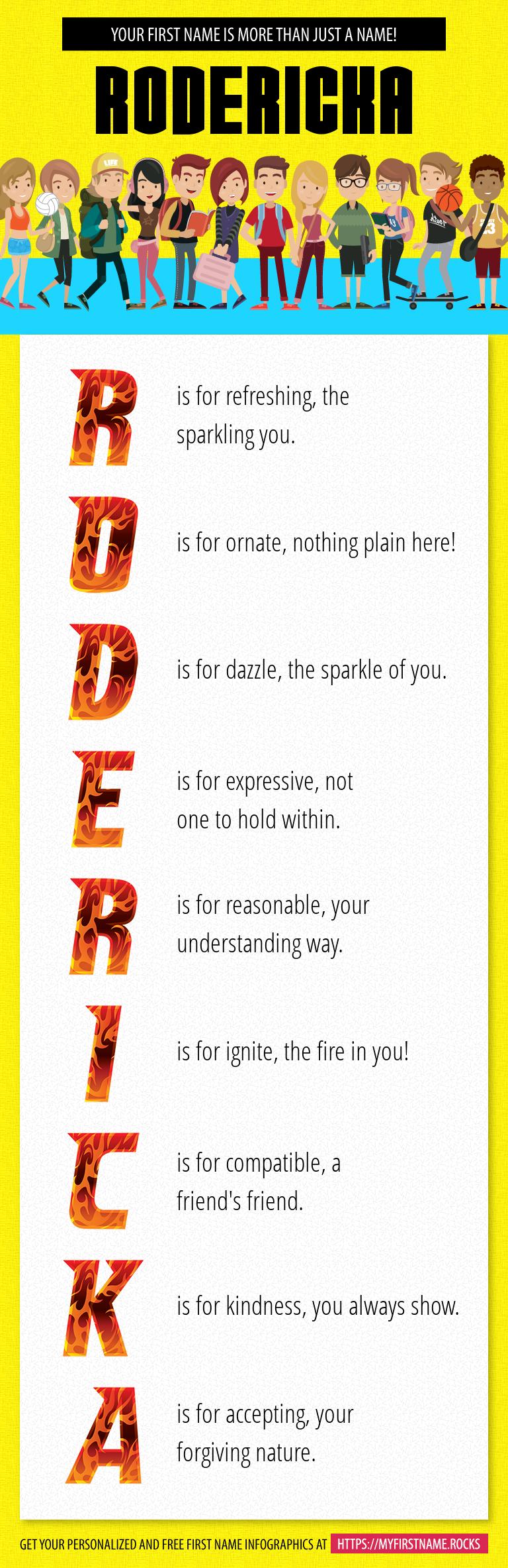Rodericka Infographics