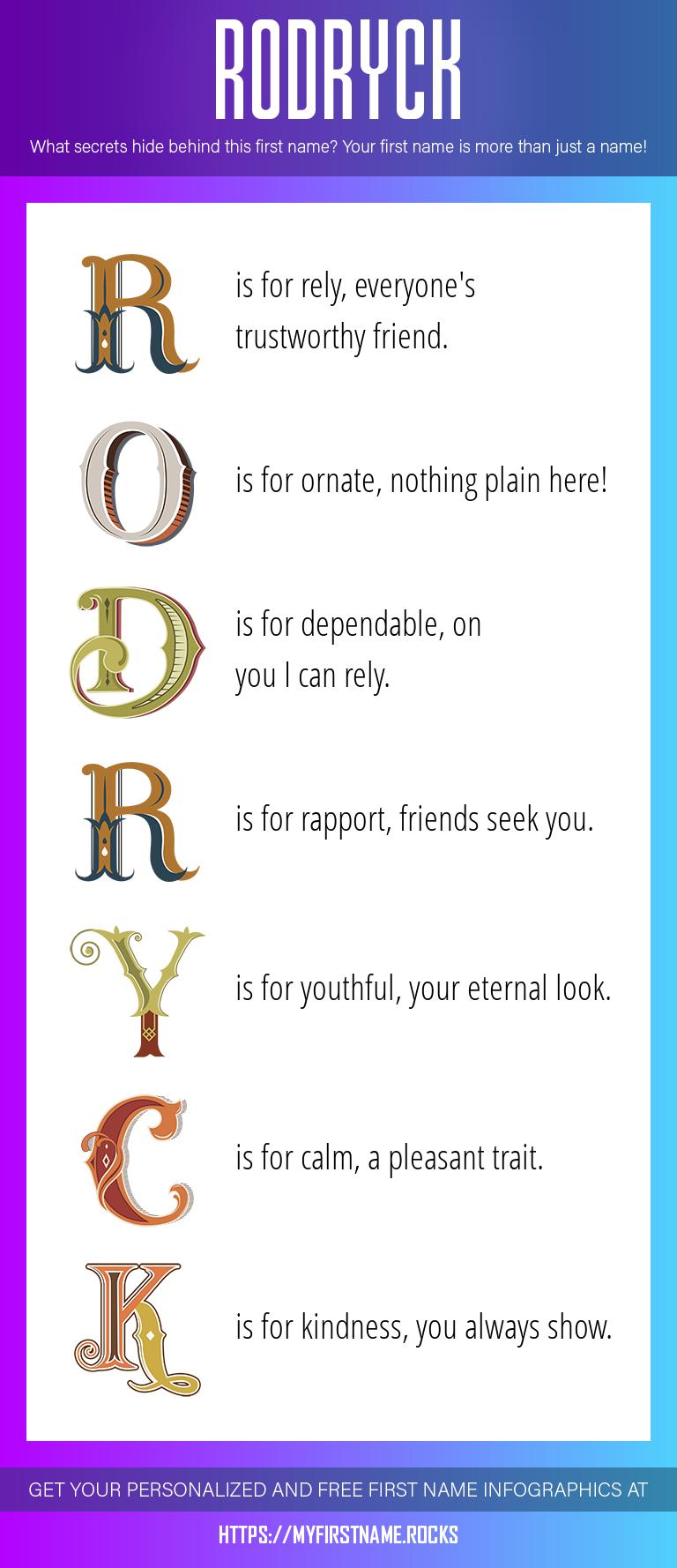 Rodryck Infographics